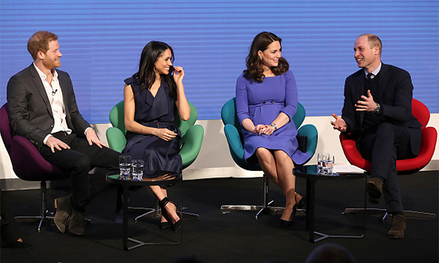 <B>THE FIRST... OFFICIAL ENGAGEMENT WITH BOTH WILLIAM AND HARRY</B>