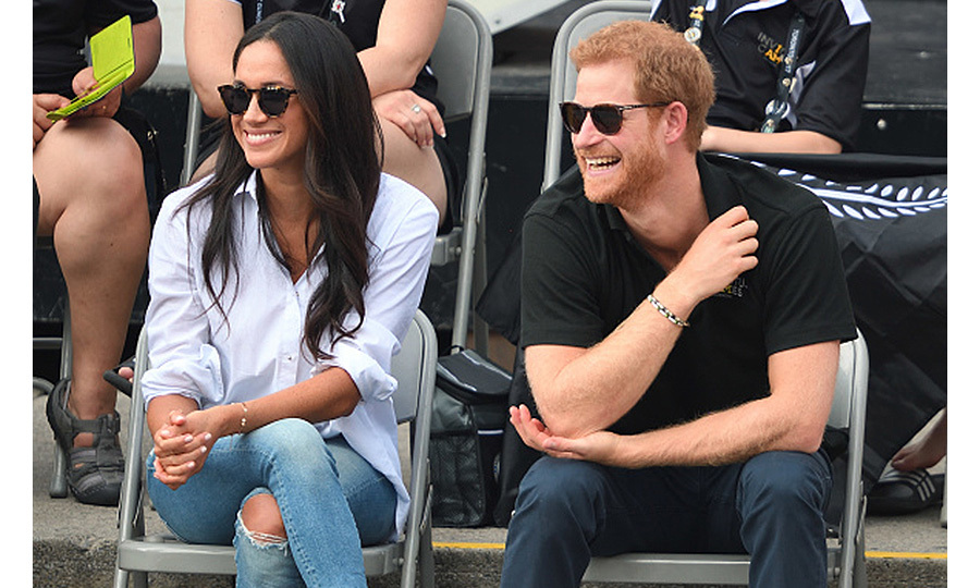 In September 2017, Prince Harry and Meghan Markle made their first public appearance as a couple at the Invictus Games in Toronto. The city was the perfect location for Meghan's debut because she was living there as she shot her TV show <I>Suits</I>.