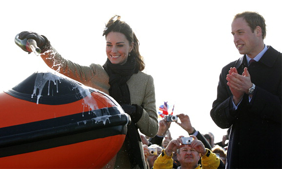 <B>THE FIRST... PRE-WEDDING JOINT APPEARANCE</B>