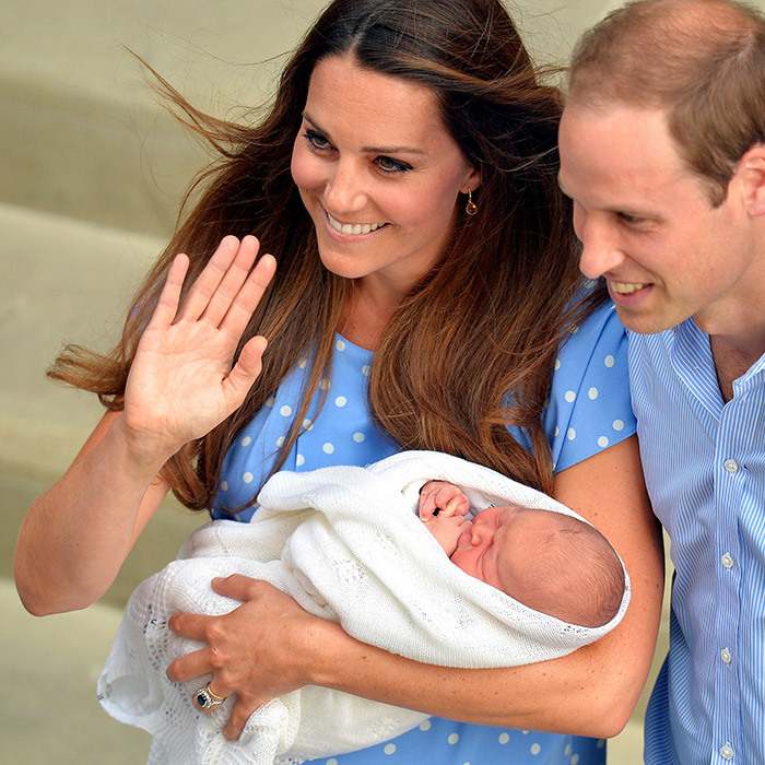 """We could not be happier,"" said first-time dad the Duke of Cambridge, who was at his wife's side when she gave birth. Also thrilled was new grandfather Prince Charles. ""Both my wife and I are overjoyed at the arrival of my first grandchild,"" the Prince of Wales said. 