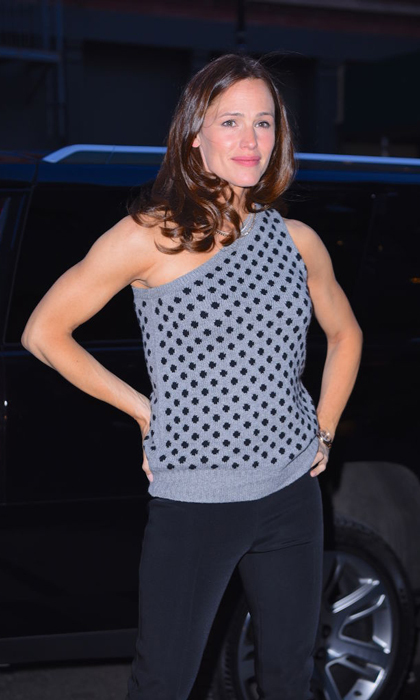 "Jennifer Garner gave a <i>Wonder Woman</i> pose while stepping out in NYC with those impressive toned arms. The actress has been training for her new action movie <i>Peppermint</i> and getting extra fit in the process. A few months prior, the mom-of-three credited Body by Simone for the ""recipe for turning a mom back into action lady.""