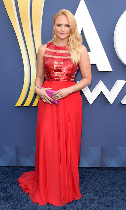 Miranda Lambert – Blake's ex-wife who is newly single after splitting from boyfriend Anderson East – made history after becoming the most decorated artist in the awards' history. The star, who looked stunning in a fiery red Georges Chakra gown, took home best female vocalist and also a song of the year for <I>Tin Man</I> which was inspired by her divorce from Blake.