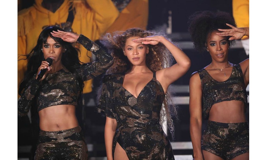 Met with roaring applause, Beyoncé took to the stage late at night on Saturday, April 14 for her highly-anticipated set at Coachella. She certainly did not disappoint, giving a show-stopping and history-making performance: it was the first time a black woman headlined the music festival. Her dazzling show came after her cancellation of headlining in 2017 due to her pregnancy with twins. 