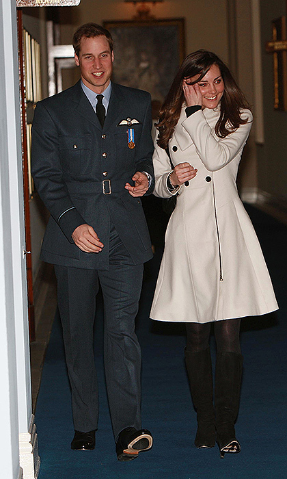 <B>THE FIRST... PUBLIC APPEARANCE AT HER PRINCE'S SIDE</B>