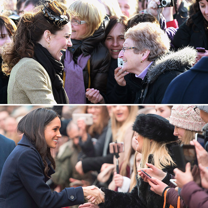 <B>THE FIRST... ROYAL WALKABOUT</B>