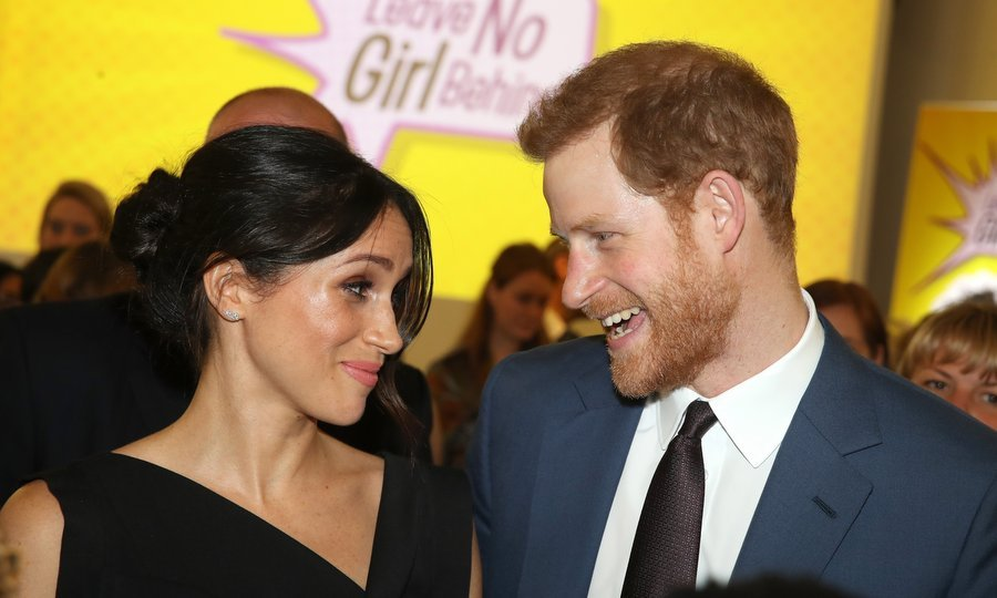 While Meghan Markle wasn't at the Buckingham Palace affair, earlier in the day the future royal bride joined Prince Harry at the Women's Empowerment reception hosted by Foreign Secretary Boris Johnson.