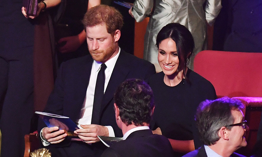 On April 21, Harry and Meghan took their seats in the royal box with Queen Elizabeth and the rest of the Prince's family for The Queen's Birthday Party concert on the occasion of Her Majesty's 92nd birthday at the Royal Albert Hall in London.