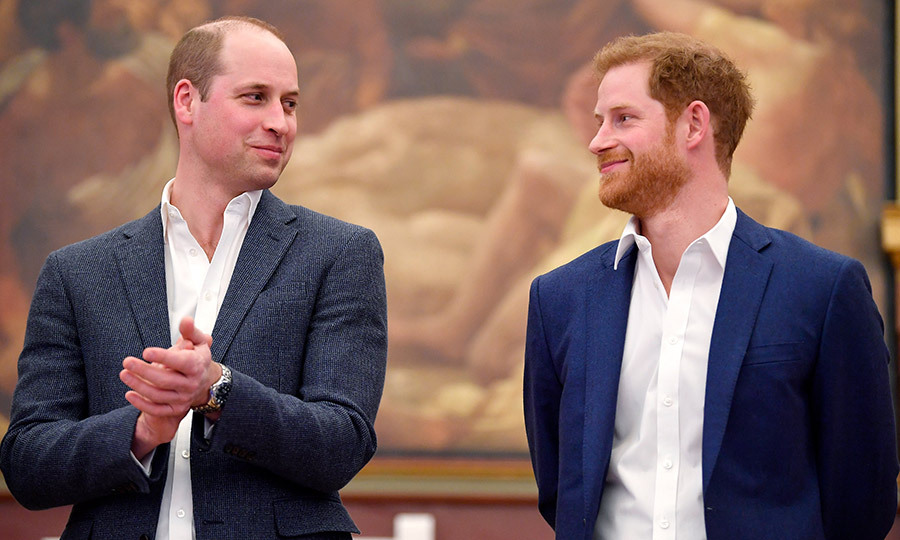 Sometimes no words are necessary! A few weeks before he ties the knot with Meghan Markle, Prince Harry shared a brotherly glance with big bro Prince William. The two were attending theopening of the Greenhouse Sports Centre in London.