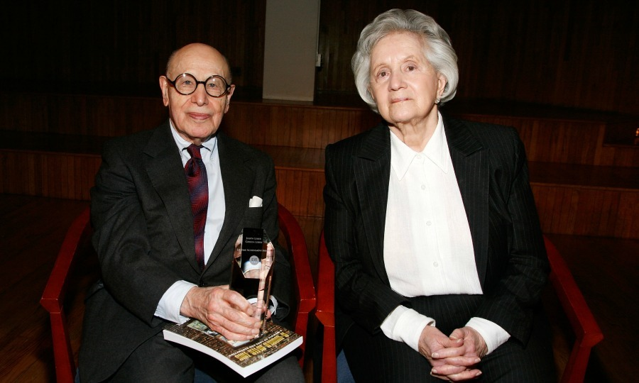 <b>Judith and Gerson Leiber — April 28</b>