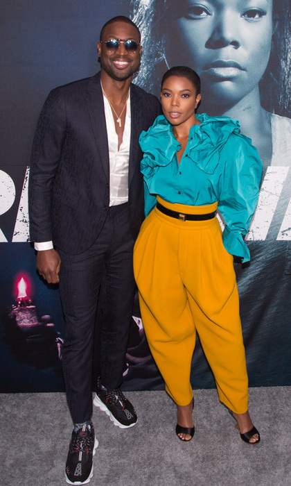 Gabrielle Union had her leading man Dwyane Wade by her side during the Universal Pictures special screening of her latest film <i>Breaking In</i> on May 1 in Hollywood.