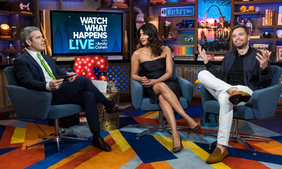 "It's always a guarantee that celebs will spill in the Clubhouse. During his visit with Priyanka Chopra to <i>Watch What Happens Live</i>, Sebastian Stan revealed he had ""extreme concerns"" over his pal Tom Hiddleston dating Taylor Swift. ""That's an amazing question,"" the <i>Avengers: Infinity War</i> joked to Andy Cohen. ""It was one of awe and extreme concern, obsession and at the same time … I don't know, I was really worried, mainly for him.""