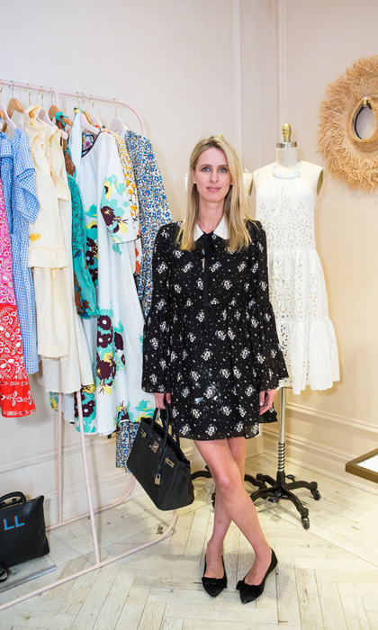 Nicky Hilton celebrated an early Mother's Day at Maisonette and Moda's Mommy & Me collection celebration at Moda Madison in NYC.