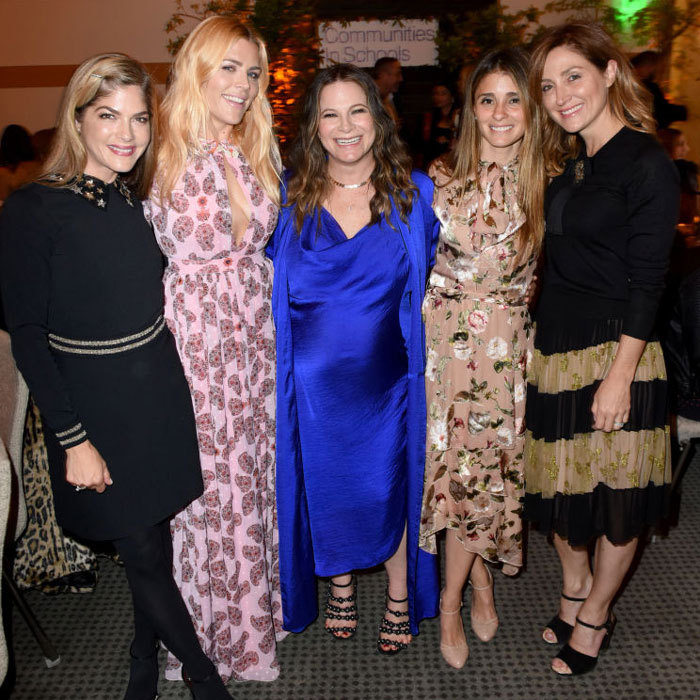 Selma Blair, Busy Philipps, Ashlee Margolis, Shiri Appleby and Sasha Alexander kicked off their week in style at the Communities in Schools annual celebration in L.A.