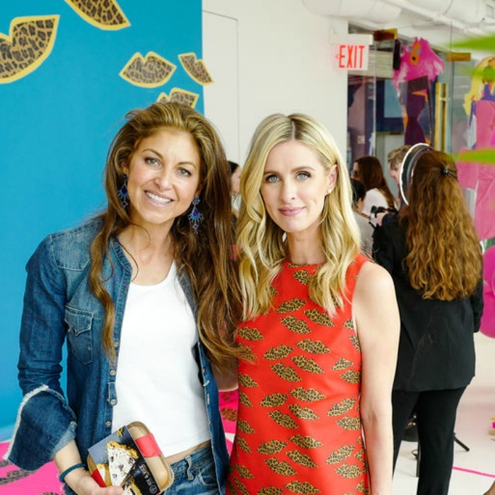 Dylan Lauren and Nicky Hilton Rothschild were among the fabulous attendees at the alice + olivia by Stacey Bendet limited-edition capsule collection with Donald Robertson party on May 5. The showroom, which overlooked the Highline, was transformed into an #AOXDONALD wonderland.