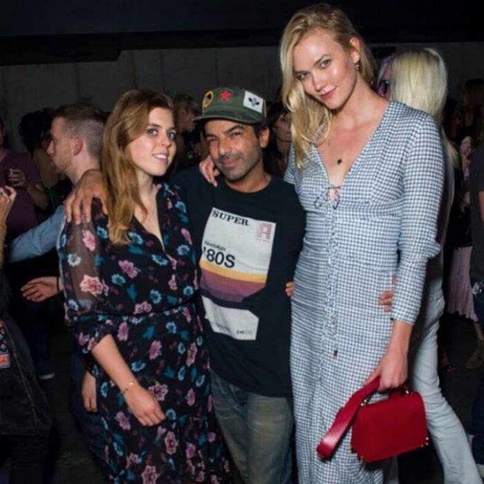 Princess Beatrice and model Karlie Kloss turned up to celebrate the Harry Josh® Pro Tools in NYC on May 5. The royal looked pretty in a floral frock, while her model friend word a blue-checkered number. The pair posed with the man-of-the-hour Harry. The event also saw stars like Kate Bosworth, Cindy Crawford and Rande Gerber and their daughter Kaia.