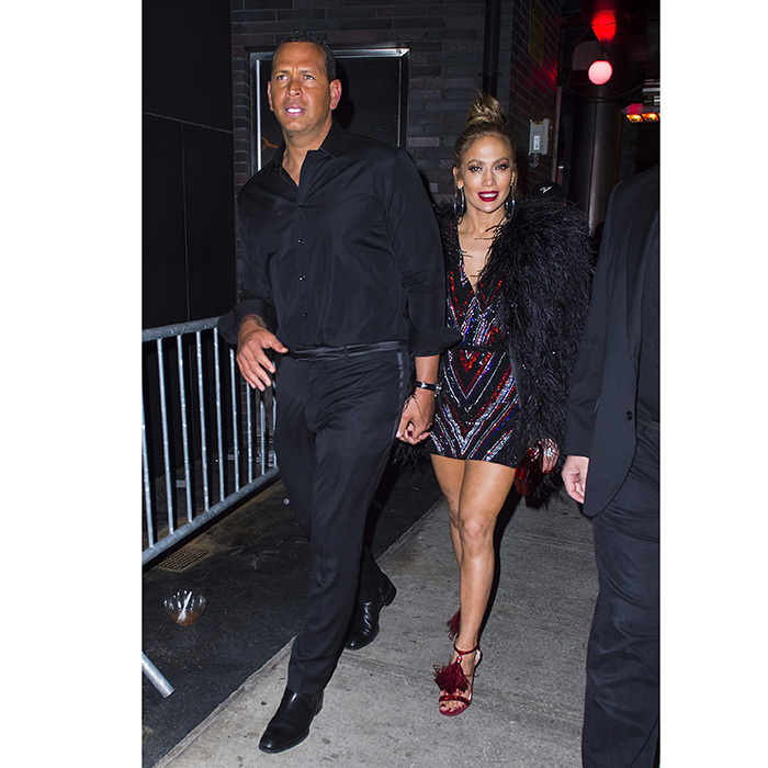Jennifer Lopez and Alex Rodriguez also hit the party circuit, stopping at the NYC Balmain Boom Boom Room bash.