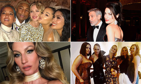 Met Gala 2018: The best party photos, Instagram snaps and behind-the-scenes  candids
