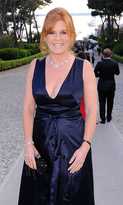 Cannes regular Sarah Ferguson sparkled in diamonds at amfAR's 2011 Cinema Against AIDS Gala during the 64th Annual Cannes Film Festival.