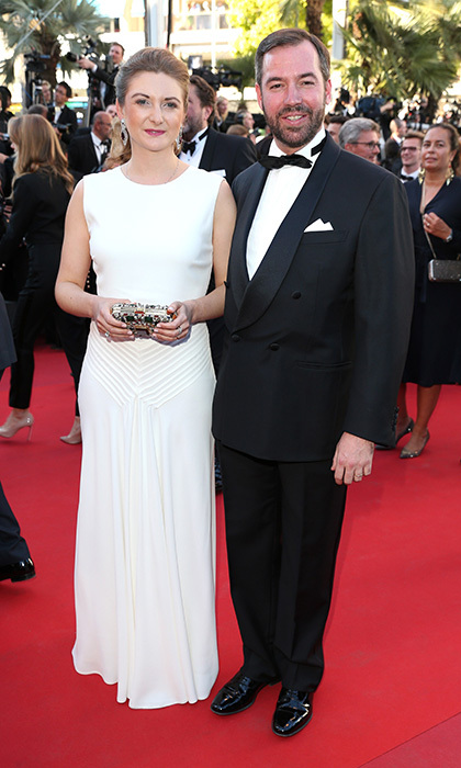 Princess Stephanie of Luxembourg and husband Prince Guillaume made their Cannes red carpet debut at the 70th annual film fest, attending the 'Ismael's Ghosts (Les Fantomes d'Ismael)' screening in 2017.