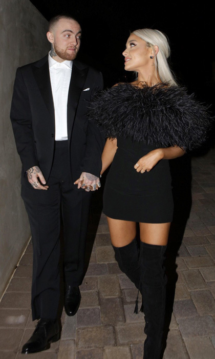 <b>Ariana Grande and Mac Miller</b>