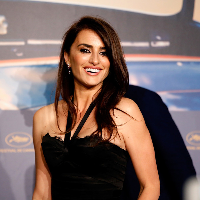 Penélope Cruz flashed a smile during the <i>Everybody Knows</i> press conference on May 9. The actress, who stars in the film with husband Javier Bardem shared that she and her spouse were compensated equally for the film. 