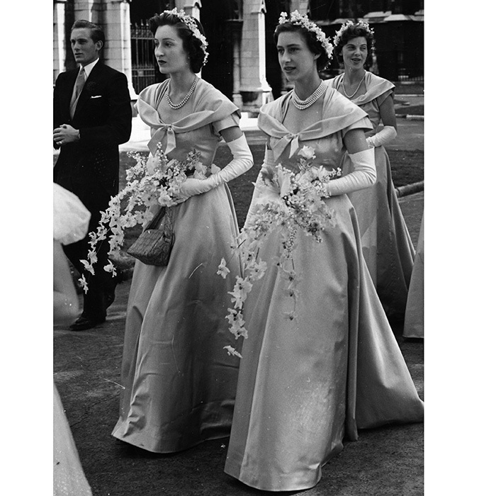 <B>PRINCESS MARGARET AS A BRIDESMAID</B>