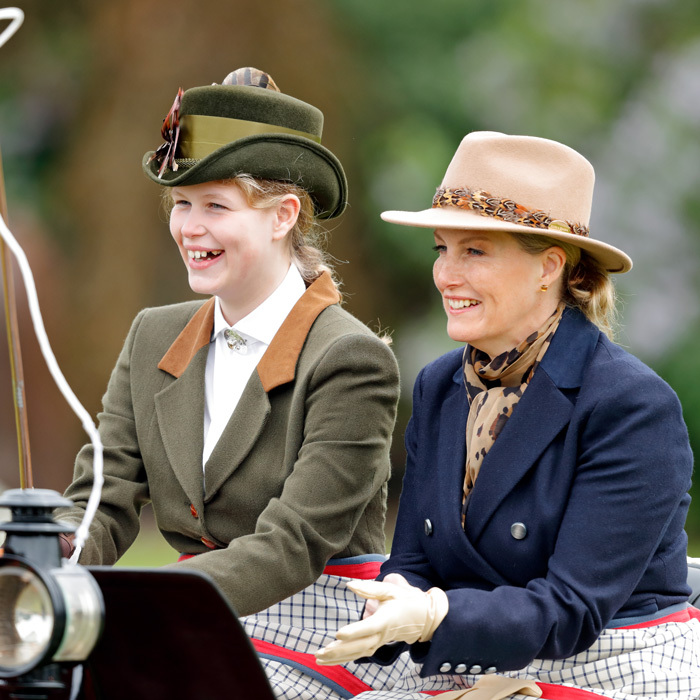 Prince Edward and the Countess of Wessex's daughter Lady Louise Windsor attended the Royal Windsor Show with her mom, grandmother and Prince Philip. The 14-year-old royal showed off her carriage driving skills as she took the reins, seated alongside her mom. The young royal is a talented equestrian but is also following in the footsteps of her grandfather Philip, who took up carriage driving aged 50 after he quit polo.