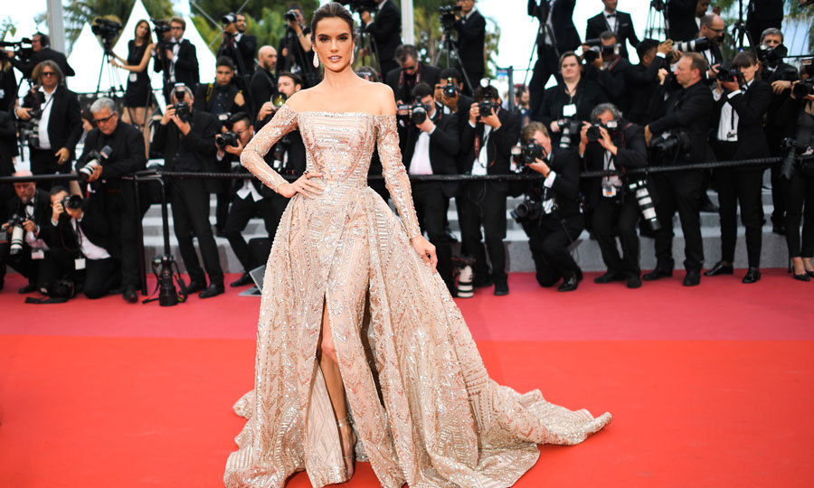 The festival may be nearing the end, but the fashion keeps on being on point. Alessandra Ambrosio stunned in a ball gown on the carpet for <i>The Wild Pear Tree</i>.