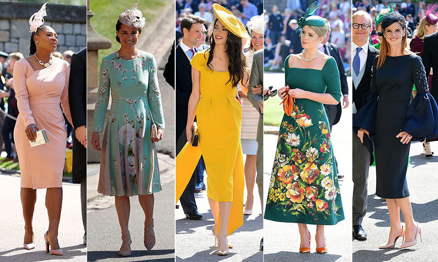 The 20 Best Dressed Guests At Royal Wedding Video