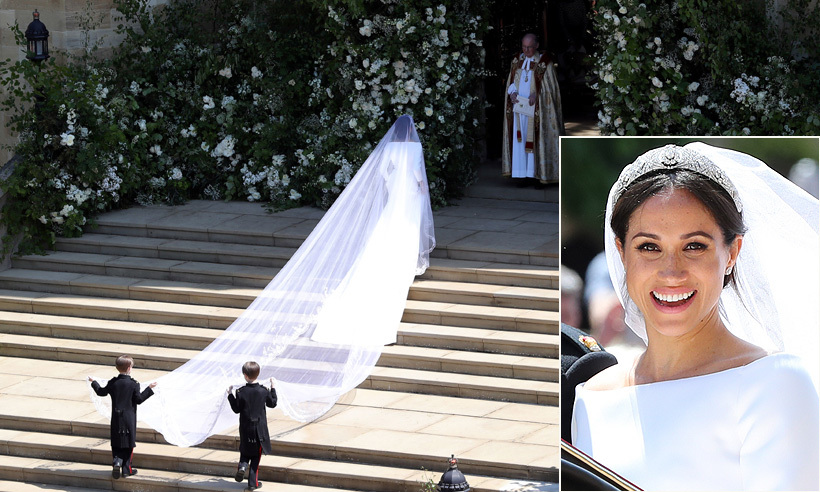 "It was the moment royal wedding fans and followers of fashion the world over had been waiting for - <a href=""https://us.hellomagazine.com/tags/1/meghan-markle/"">Meghan Markle</a>'s big dress reveal! <a href=""https://us.hellomagazine.com/tags/1/prince-harry/"">Prince Harry</a> 's beloved stepped out of the vintage Rolls Royce Phantom IV which had brought her to the steps of St George's Chapel, and there it was for all to see – and the dreamy dress, designed by Claire Waight Keller For Givency – certainly didn't disappoint.