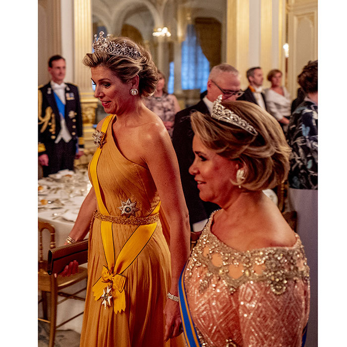 Queen Maxima In Luxembourg Photos Of The Royal State