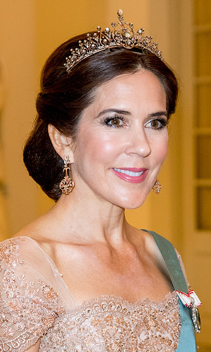 Royal Jewels And Tiaras Spotted At Crown Prince Frederik
