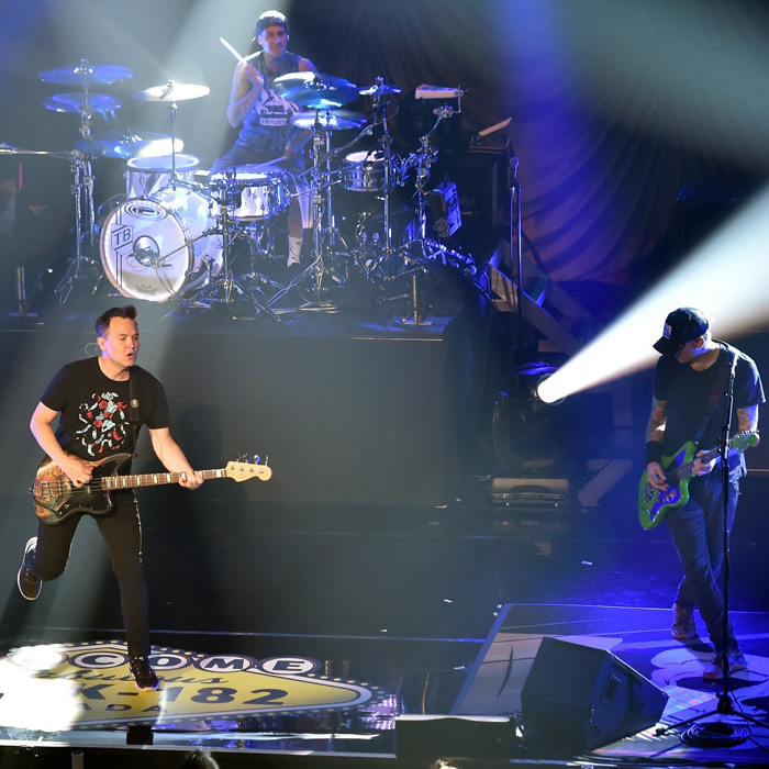 They are back! Blink-182 returned to the stage for their <i>Kings of the Weekend</i> residency at Las Vegas' newly renovated Pearl Concert Theater in the Palms Casino Resort.