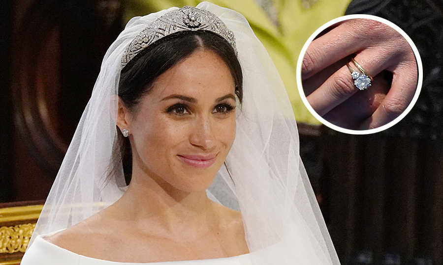 Royal wedding rings The symbolic royal jewels worn by Meghan Markle
