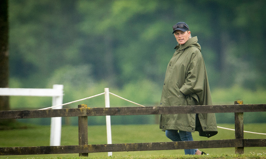 The countdown is on for the Queen's pregnant granddaughter Zara Tindall, who is expecting her second child with former pro rugby star Mike Tindall soon. The British royal was spotted watching her cousin Prince William play polo at England's Cirencester Park Polo Club. 