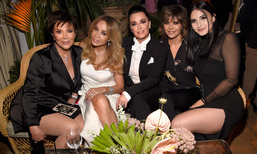 Ladies' night! Kris Jenner stepped out with Faye Resnick, Kylie Richards, her daughter Sophia Umansky and Lisa Rinna to the <i>American Woman</i> premiere. 
