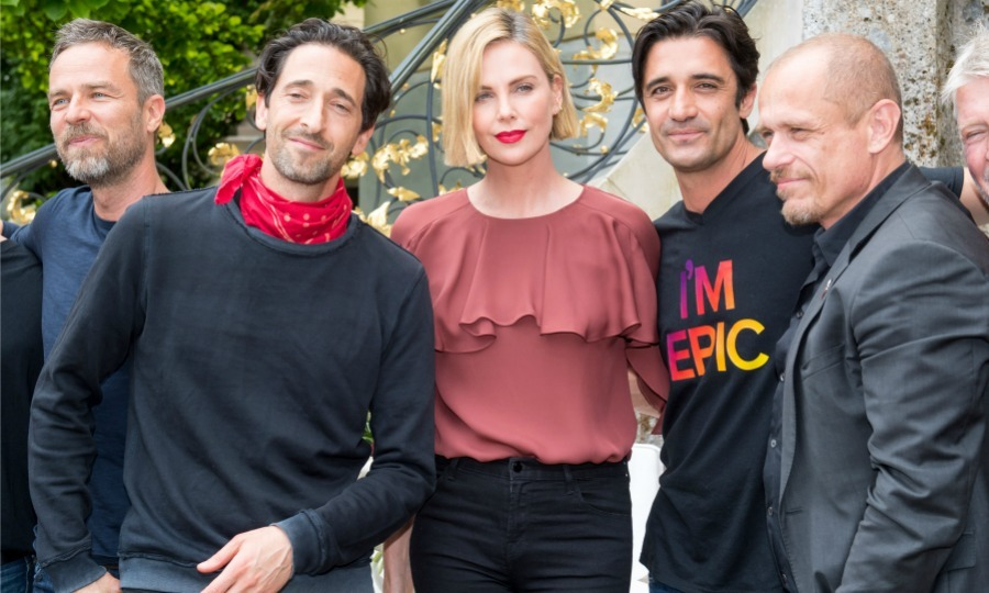 Brunch for a cause! Charlize Theron helped host an event as part of amfAR's Life Ball on Friday, June 1 in Salzburg, Austria. The 42-year-old Oscar-winning actress was joined at the event by Adrien Brody and Gilles Marini, who were on their way to Vienna.