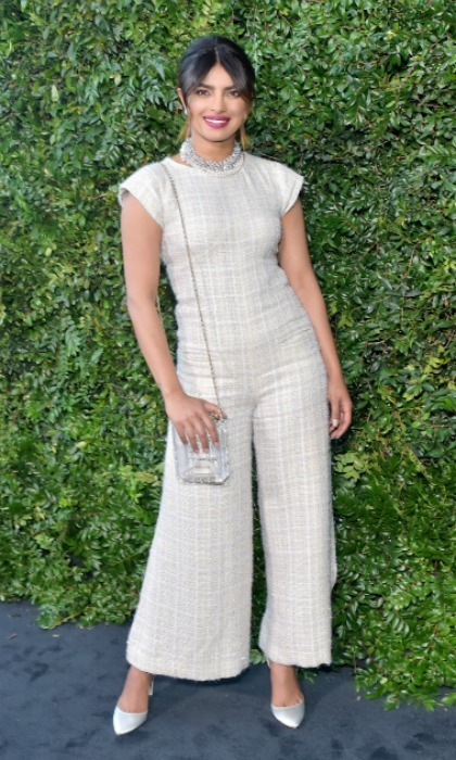 Priyanka Chopra was also in attendance, rocking a light jumpsuit by the designer.