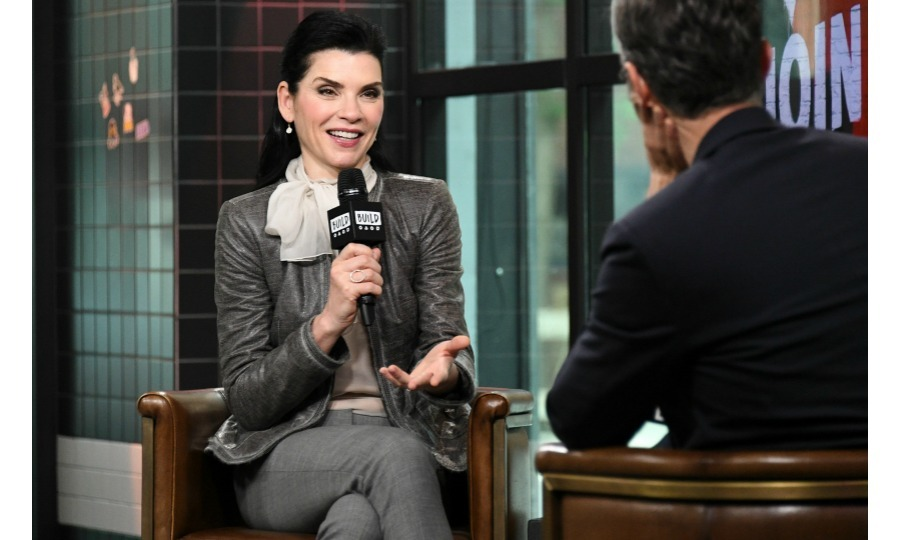 Julianna Margulies stopped by <i>Build Series</i> to discuss her upcoming series <i>Dietland</i> on June 4 in New York City. 