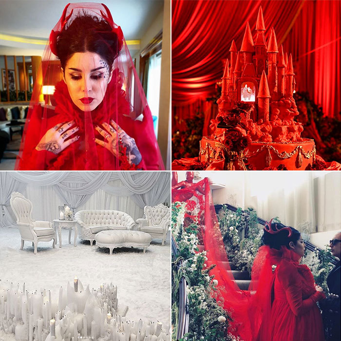 <B>Kat Von D and Leafar Seyer</B>
