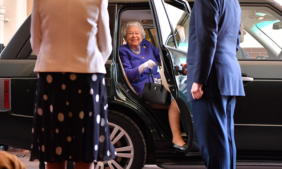 Animal lover Queen Elizabeth II looked very excited as she arrived for the 10th Anniversary celebration of the charity Medical Detection Dogs at The Royal Mews on June 6 in London. Medical Detection Dogs is a charity which aims to transform disease detection by using canines' extraordinary smelling power to sniff out life theatening diseases for humans. 