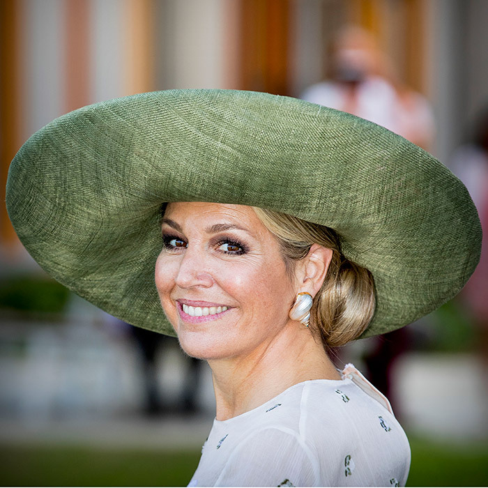 Hats off to Queen Maxima of the Netherlands who opened the Princess Maxima Centre For Children's Oncology in Utrecht. The hospital has special facilities for children with cancer, such as parent-child rooms. 