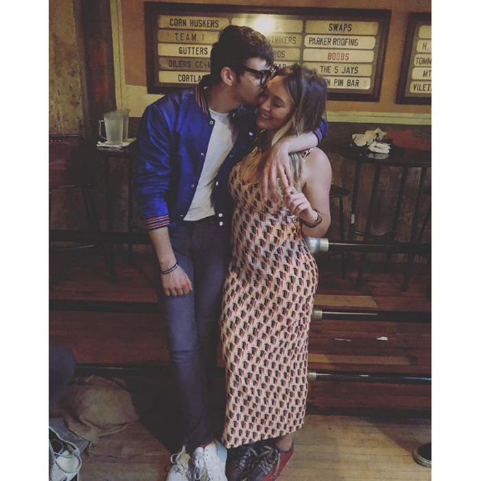 <b>Hilary Duff and Matthew Koma</b>