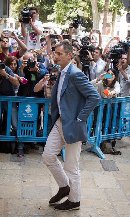 All eyes, and lenses, were on King Felipe of Spain's brother-in-law Iñaki Urdangarin as he arrived at a Palma de Mallorca courthouse on June 13. Princess Cristina's husband was sentenced on appeal to five years and 10 months in jail after being found guilty on numerous counts last year, including fraud and tax evasion.