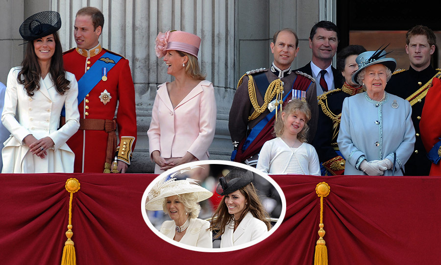 <B>THE FIRST... TROOPING THE COLOUR</B>