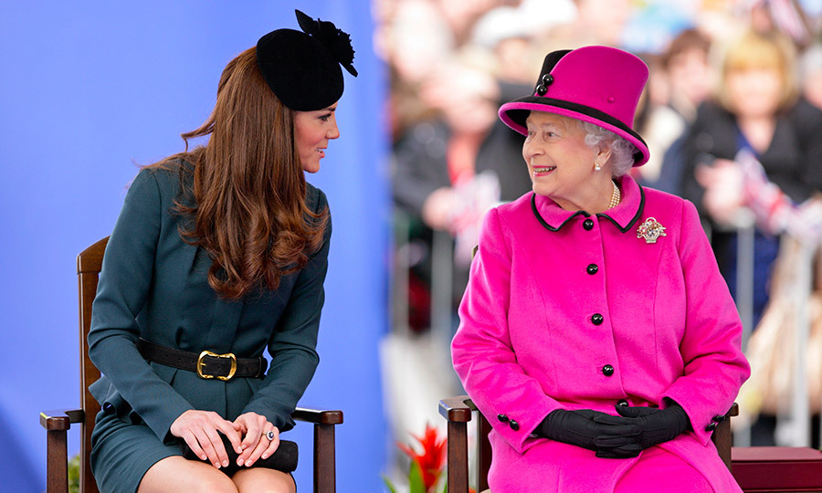 <B>THE FIRST... SOLO TRIP WITH GRANDMOTHER-IN-LAW, THE QUEEN</B>