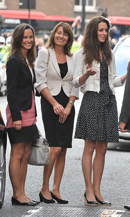 <b>THE FIRST... PRE-WEDDING APPEARANCE WITH THE MOTHER-OF-THE BRIDE</B>