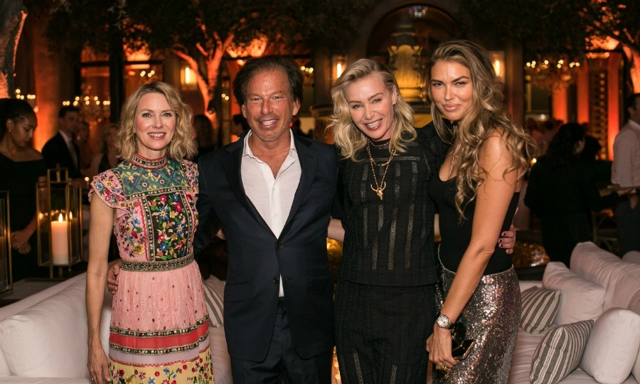 Restoration Hardware celebrated the unveiling of RH Nashville in style on June 14. Seen here: RH Chairman & CEO Gary Friedman posed alongside star attendees Naomi Watts, Portia de Rossi and Bella Hunter.