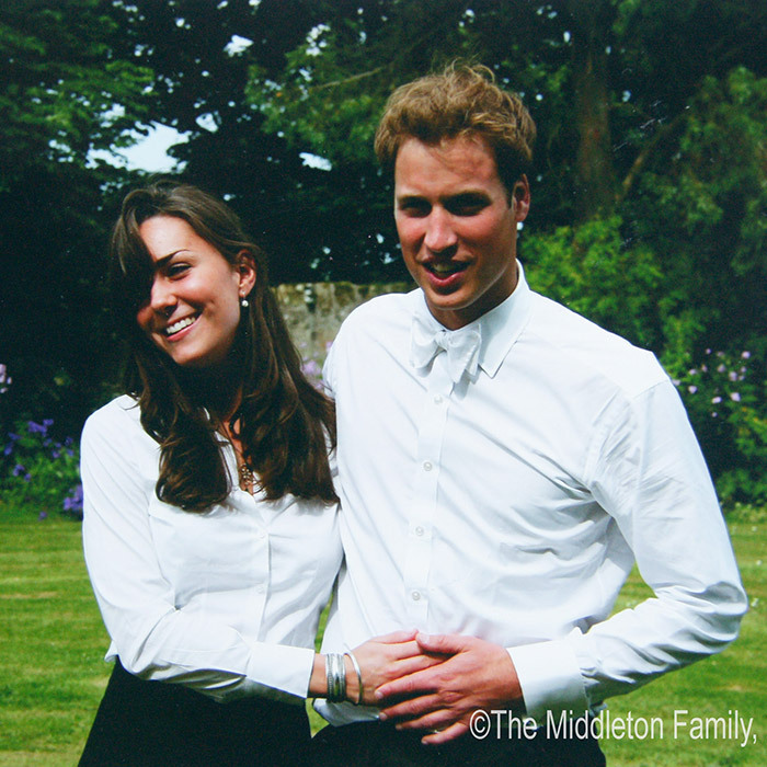 And the rest is royal history! Prince William stayed close to his girlfriend Kate Middleton on the day of their graduation ceremony from St Andrew's University on June 23, 2005. Six years later the couple would marry in a spectacular royal wedding held at Westminster Abbey.