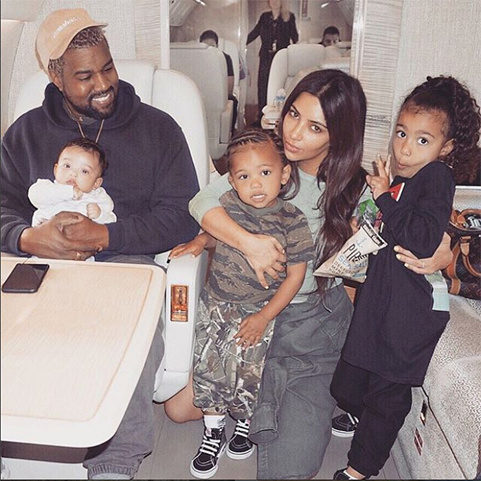 Does North West Have Hair Extensions Kim Kardashian Explains Her